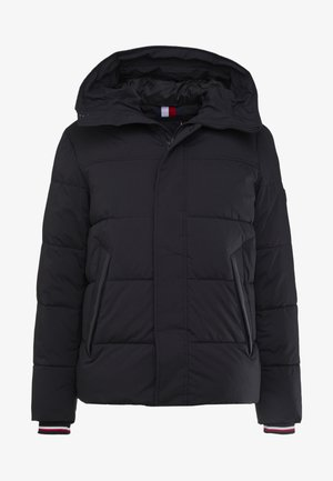 STRETCH HOODED - Giacca invernale - black