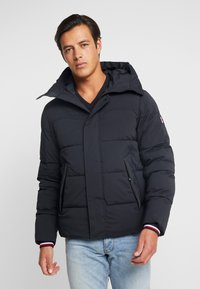 Tommy Hilfiger - STRETCH HOODED - Winterjas - black - 2