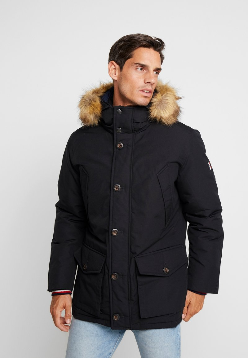 Tommy Hilfiger - HAMPTON DOWN  - Daunenmantel - black