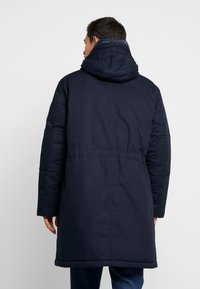 Tommy Hilfiger - MONOGRAM HOODED - Winter coat - blue - 2