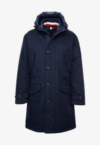 Tommy Hilfiger - MONOGRAM HOODED - Winter coat - blue - 4