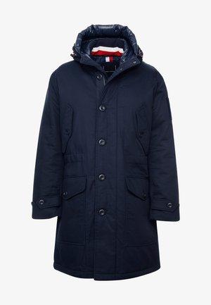 MONOGRAM HOODED - Abrigo de invierno - blue