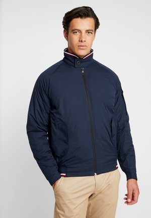 STRETCH HARRINGTON - Giacca da mezza stagione - blue