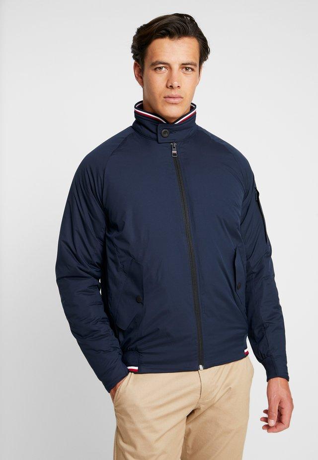 STRETCH HARRINGTON - Light jacket - blue