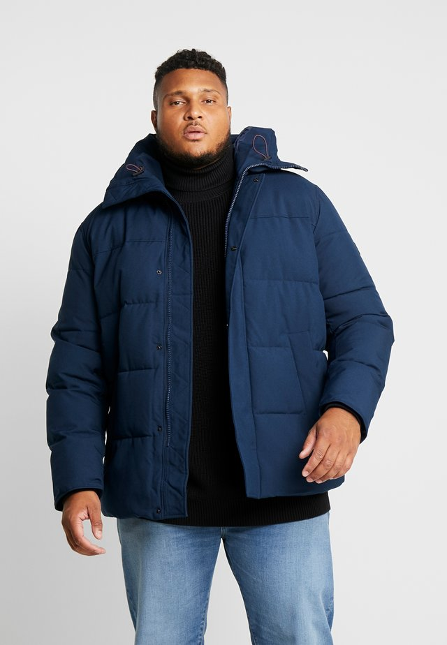 HEAVY BOMBER - Winter jacket - blue