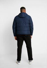 Tommy Hilfiger - HOODED - Down jacket - blue - 2