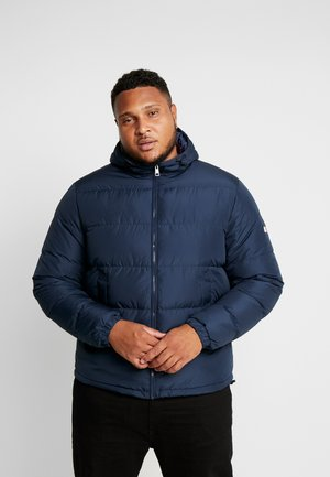 HOODED - Gewatteerde jas - blue