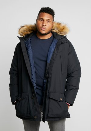 HAMPTON  - Down coat - black