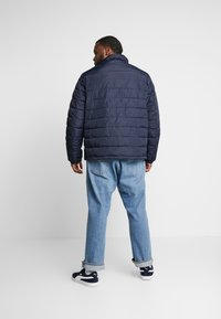 Tommy Hilfiger - QUILTED HOODED JACKET - Veste mi-saison - blue - 3