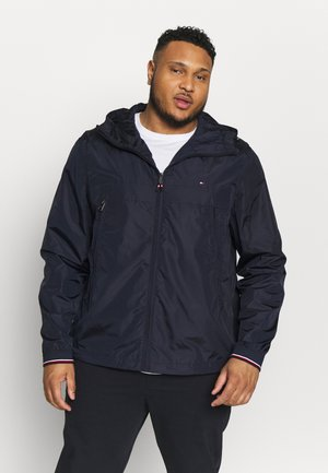 LIGHT WEIGHT HOODED JACKET - Regenjas - blue