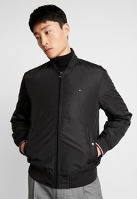 Tommy Hilfiger - PADDED BOMBER - Bomberjacks - black - 0