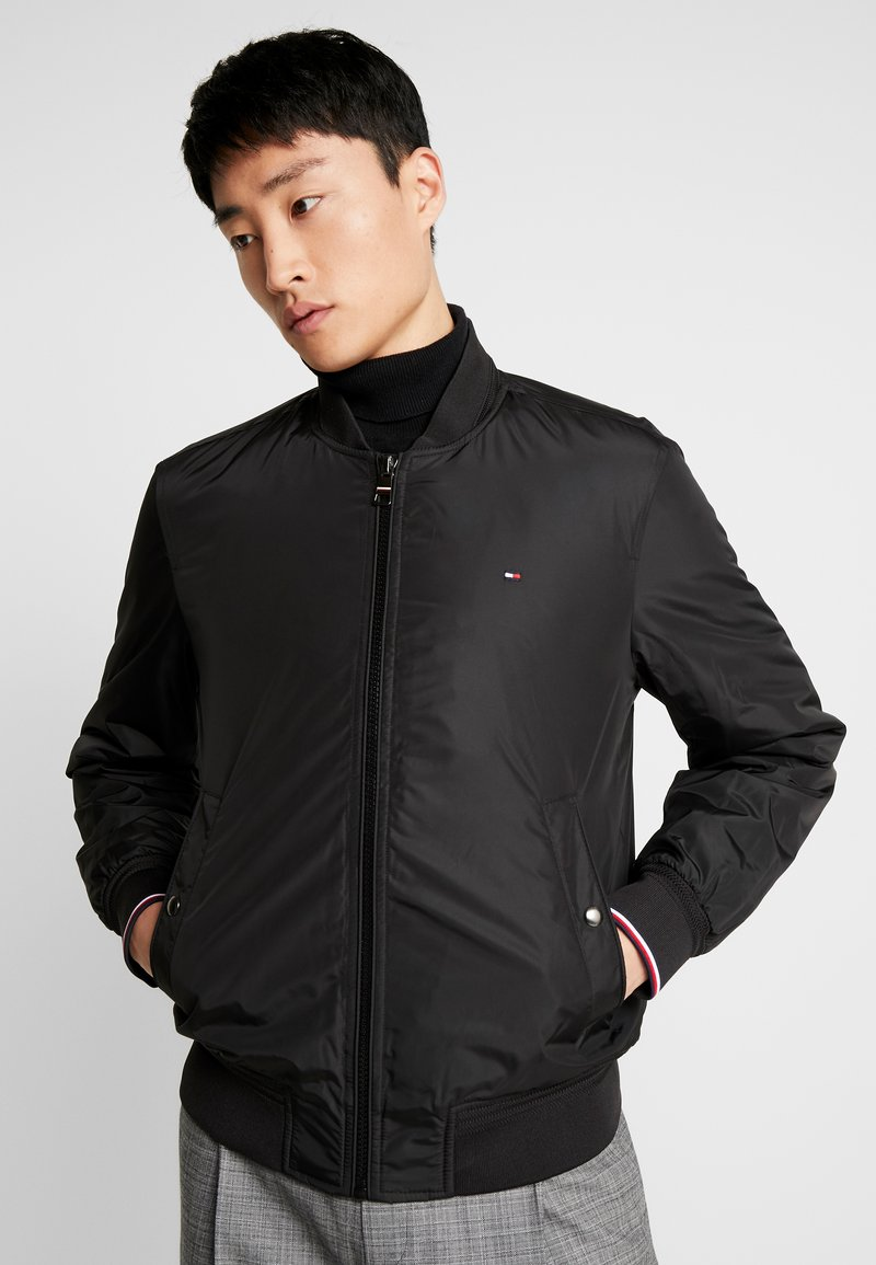 Tommy Hilfiger - PADDED BOMBER - Bomberjacks - black