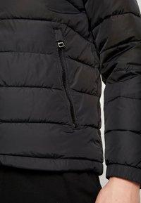 Tommy Hilfiger - QUILTED HOODED JACKET - Light jacket - black - 6