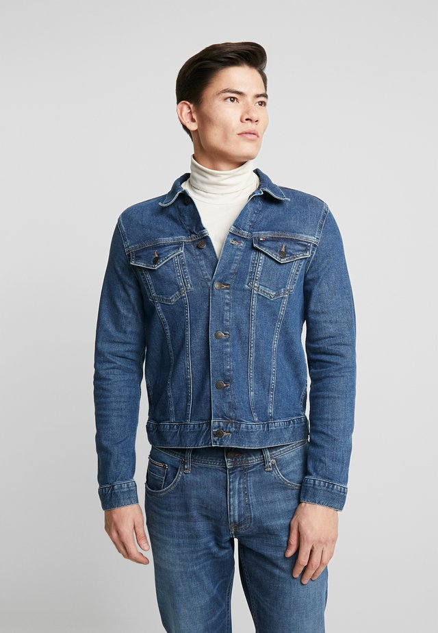TRUCKER - Denim jacket - blue denim