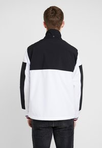 Tommy Hilfiger - COLOURBLOCK DETACH HOODED JACKET - Korte jassen - white - 3