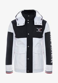 Tommy Hilfiger - COLOURBLOCK DETACH HOODED JACKET - Korte jassen - white - 4
