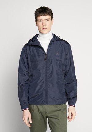 LIGHT WEIGHT HOODED  - Summer jacket - blue