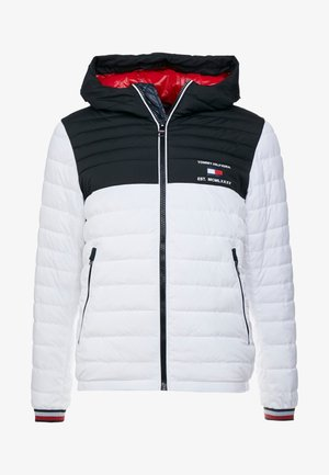 HOODED JACKET - Veste mi-saison - white