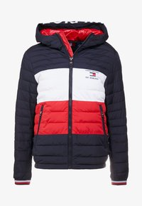 Tommy Hilfiger - COLOURBLOCK HOODED JACKET - Giacca da mezza stagione - blue - 4