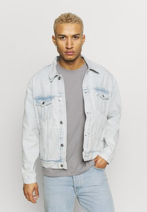 LEWIS HAMILTON BLEACHED TRUCKER JACKET - Giacca di jeans - denim