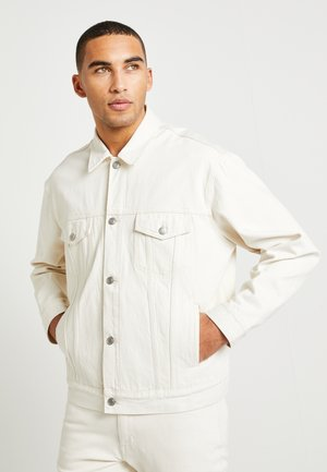 LEWIS HAMILTON ECRU TRUCKER JACKET - Denim jacket - offwhite