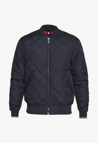 Tommy Hilfiger - CHEVRON QUILTED  - Bomberjacks - blue - 3