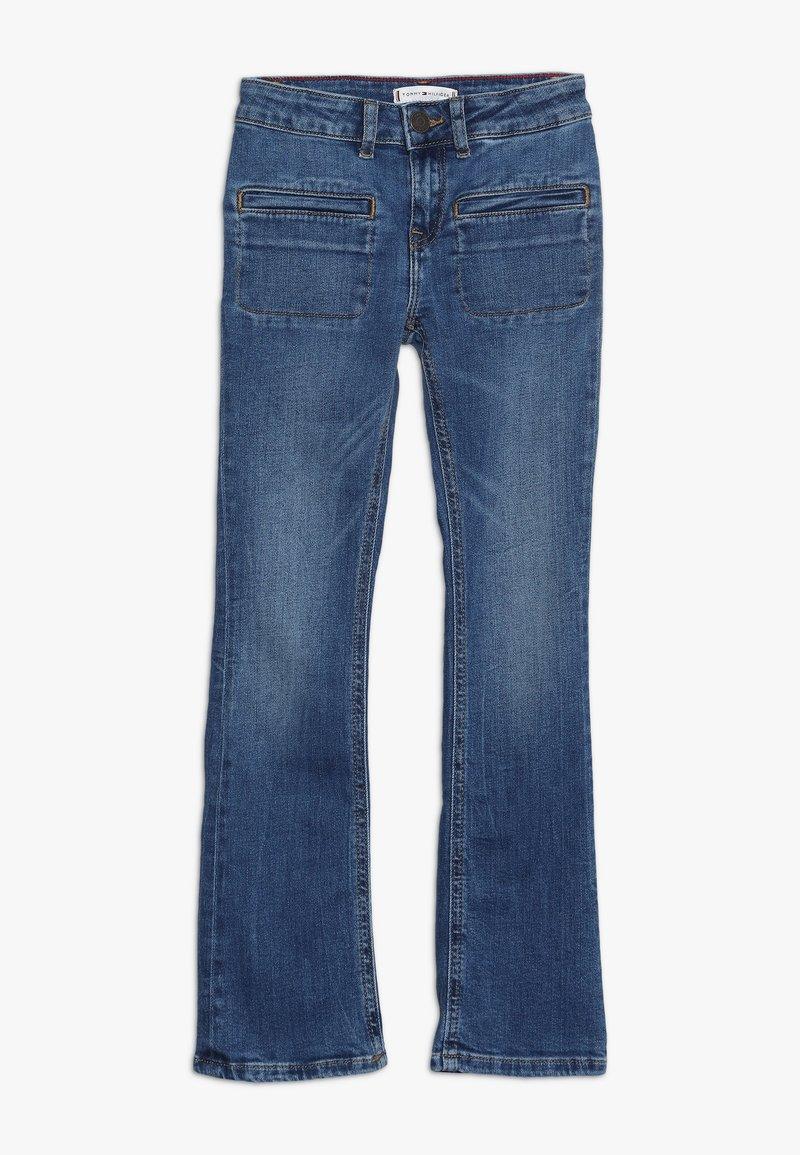 Tommy Hilfiger - FLARE - Jeans Skinny Fit - denim