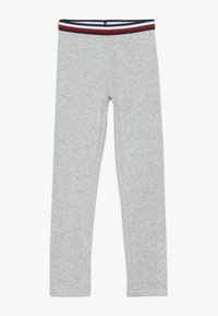 Tommy Hilfiger - ESSENTIAL SOLID ICONIC - Leggings - grey - 0