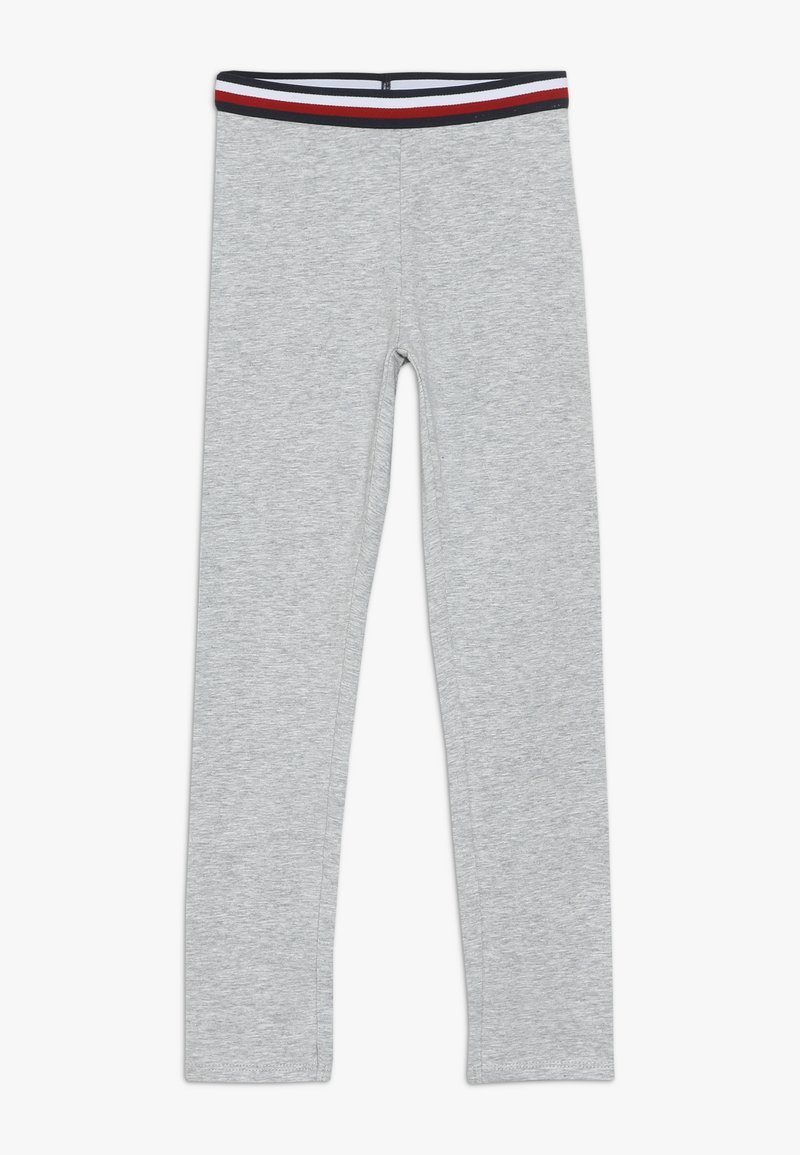 Tommy Hilfiger - ESSENTIAL SOLID ICONIC - Leggings - grey