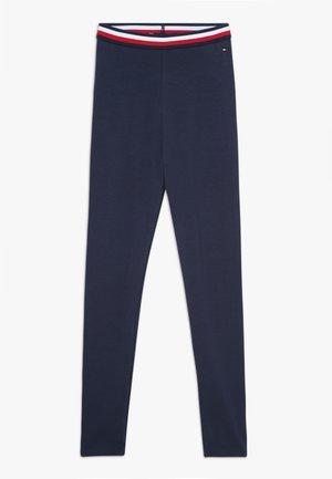 ESSENTIAL SOLID ICONIC - Legging - blue
