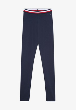 ESSENTIAL SOLID ICONIC - Leggings - Trousers - blue