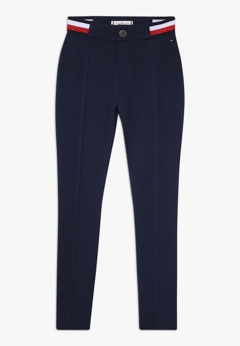 Tommy Hilfiger - ESSENTIAL PUNTO MILANO - Trousers - blue