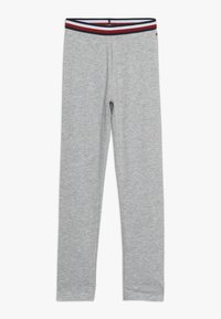 Tommy Hilfiger - SOLID - Leggings - Trousers - grey - 0