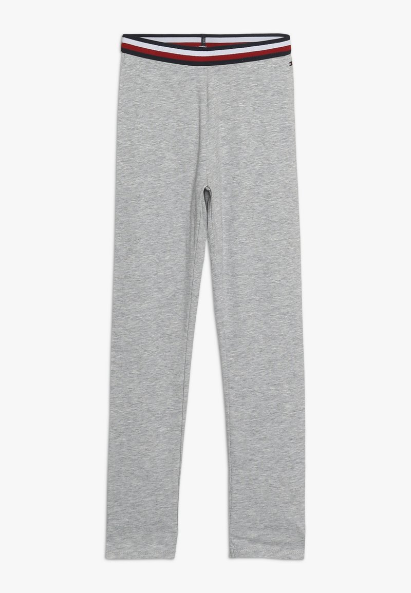 Tommy Hilfiger - SOLID - Leggings - Trousers - grey