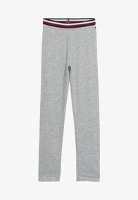 Tommy Hilfiger - SOLID - Leggings - Trousers - grey - 2