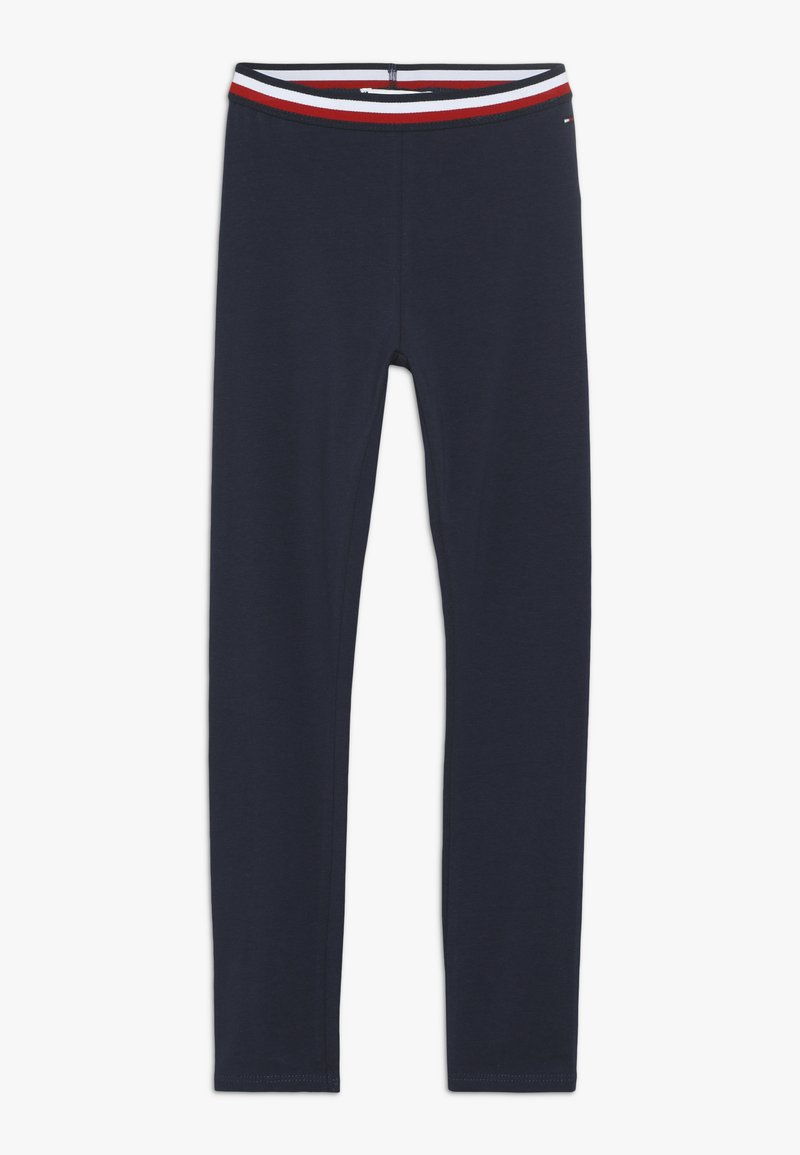 Tommy Hilfiger - SOLID - Leggings - Trousers - blue