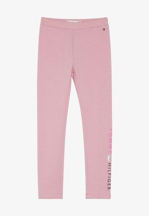 ESSENTIAL LOGO - Leggings - Trousers - pink