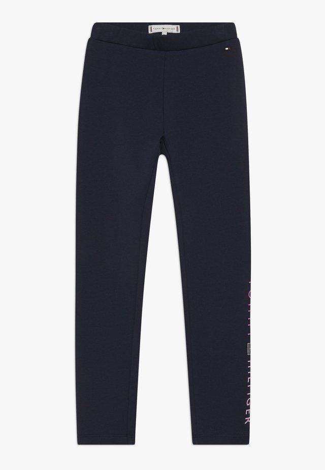 ESSENTIAL LOGO - Leggings - Trousers - blue