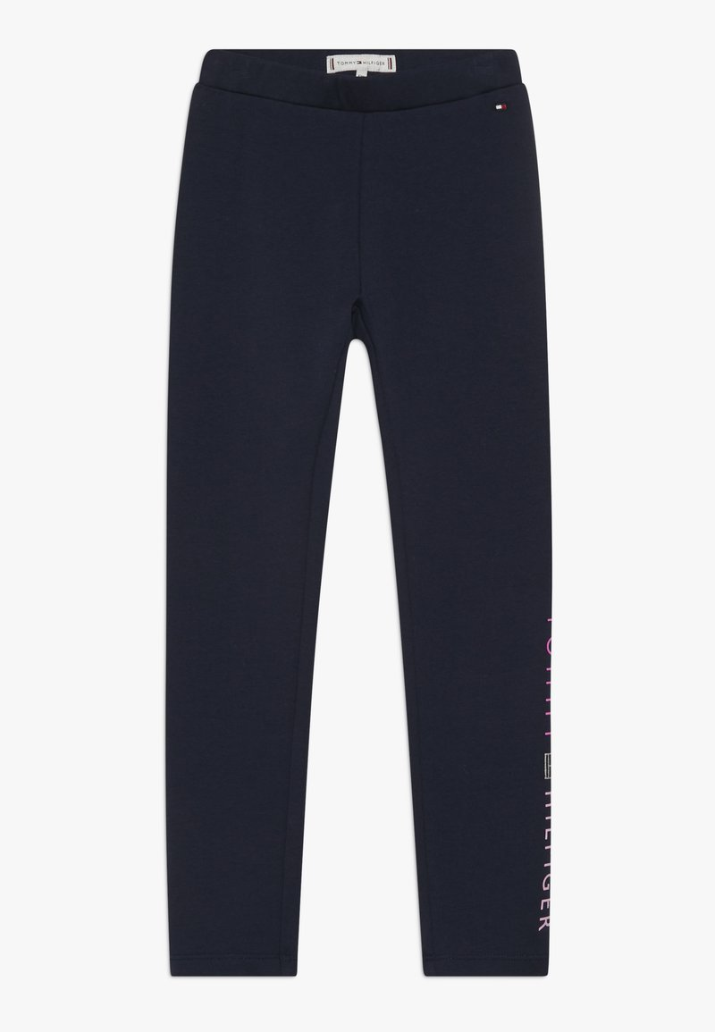 Tommy Hilfiger - ESSENTIAL LOGO - Leggings - blue