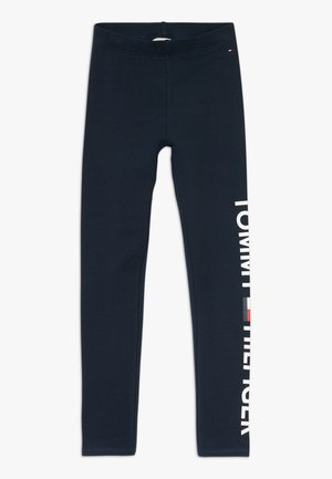 ESSENTIAL LOGO - Pantalones deportivos - blue