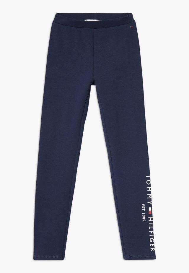 ESSENTIAL  - Leggings - Trousers - blue