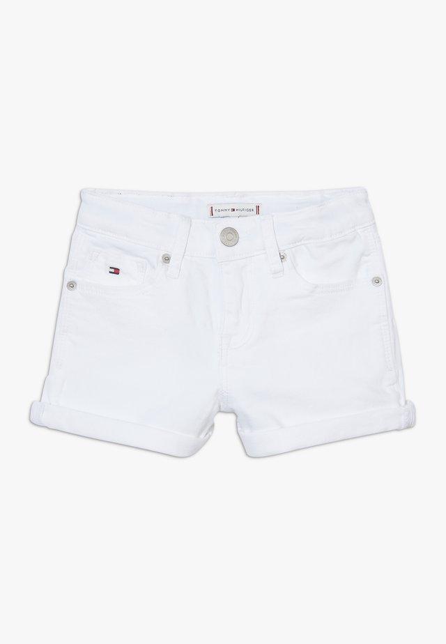 NORA - Shorts vaqueros - white