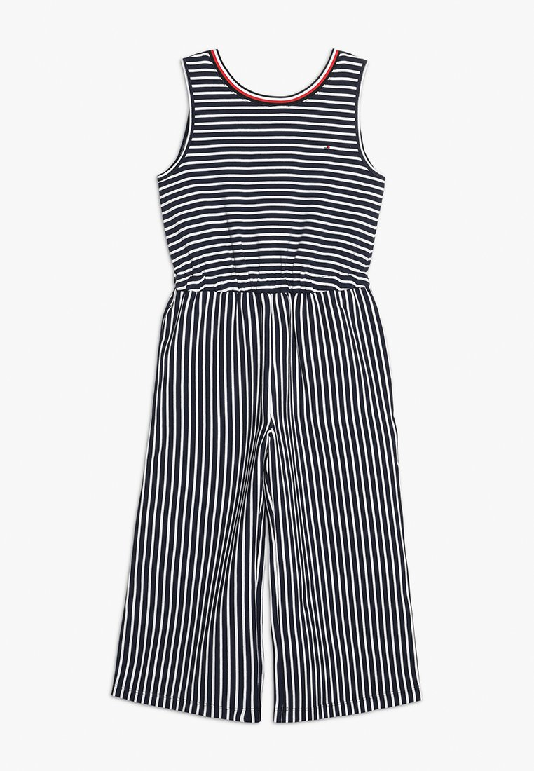 Tommy Hilfiger - STRIPE - Jumpsuit - blue