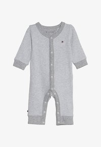 Tommy Hilfiger - BABY COVERALL  - Combinaison - grey heather - 2