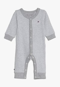 Tommy Hilfiger - BABY COVERALL  - Combinaison - grey heather - 0