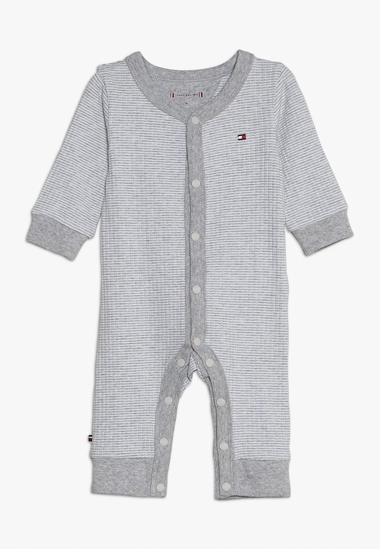 Tommy Hilfiger - BABY COVERALL  - Combinaison - grey heather