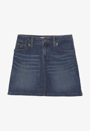 A LINE SKIRT - A-line skirt - denim
