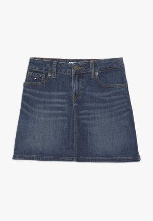 A LINE SKIRT - Áčková sukně - denim