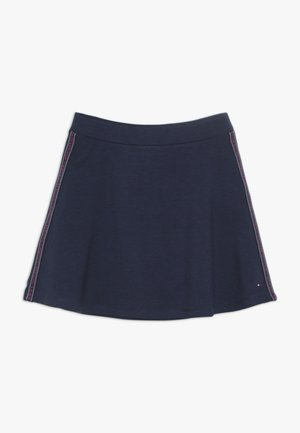 TAPE SKATER SKIRT - A-line skirt - blue