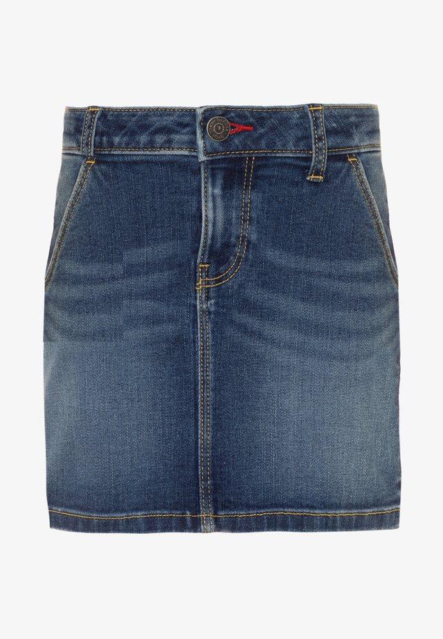BASIC SKIRT  - Denim skirt - denim